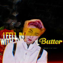butter butterbts kimnamjoom namjoon bts btsrm btsnamjoon bangtanboys bangtan freetoedit