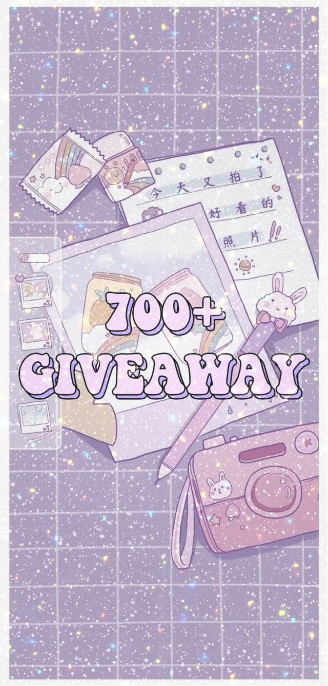 """#hewo this is my first giveaway at 700+  thank you again  make sure you join within 24  ԋσυɾʂ  if you have any questions you can ask  so here are the rules to join and make sure you follow me forever -𝚝𝚊𝚐 2 𝚙𝚎𝚘𝚙𝚕𝚎  - 𝚛𝚎𝚖𝚒𝚡 𝚊𝚗𝚍 𝚞𝚜𝚎 𝚑𝚊𝚜𝚝𝚊𝚐 #ze84567001stgiveaway -𝚜𝚊𝚢 𝚘𝚛 𝙿𝚒𝚗𝚝𝚎𝚛𝚎𝚜𝚝 𝚞𝚜𝚎𝚛 𝚒𝚏 𝚢𝚘𝚞 𝚍𝚘𝚗𝚝 𝚑𝚊𝚟𝚎 𝚒𝚝𝚜 𝚏𝚒𝚗𝚎  ꉣꋪ꒐ꁴꏂꇙ 1𝔰𝔱 𝔭𝔩𝔞𝔠𝔢  - 𝟓 𝐢𝐜𝐨𝐧𝐬 ( 𝐦𝐚𝐤𝐞 𝐬𝐮𝐫𝐞 𝐭𝐨 𝐬𝐚𝐲 𝐦𝐞 𝐢𝐟 𝐲𝐨𝐮 𝐰𝐚𝐧𝐭 𝐤𝐩𝐨𝐩 𝐨𝐫 𝐚𝐧𝐢𝐦𝐞) -𝐟𝐞𝐰 𝐬𝐲𝐦𝐛𝐨𝐥 𝐩𝐚𝐜𝐤 -𝟓 𝐢𝐛𝐢𝐬 𝐩𝐚𝐢𝐧𝐭 𝐱 𝐛𝐫𝐮𝐬𝐡𝐞𝐬 (𝐬𝐚𝐲 𝐦𝐞  𝐢𝐟 𝐲𝐨𝐮 𝐰𝐚𝐧𝐭 𝐟𝐨𝐫 𝐦𝐚𝐧𝐢𝐩𝐬 𝐨𝐫 𝐚𝐧𝐢𝐦𝐞 𝐬𝐭𝐮𝐟𝐟) 𝐨𝐫 𝐢𝐟 𝐲𝐨𝐮 𝐝𝐨𝐧𝐭 𝐰𝐚𝐧𝐭 𝐛𝐫𝐮𝐬𝐡𝟑𝐬 𝐭𝐡𝐞𝐧 𝐨𝐧𝐞 𝐞𝐝𝐢𝐭 𝐫𝐞𝐪𝐮𝐞𝐬𝐭 -𝐩𝐨𝐥𝐚𝐫𝐫 𝐟𝐢𝐥𝐭𝐞𝐫𝐬 (𝟓 ) -𝟏 𝐰𝐚𝐭𝐞𝐫𝐦𝐚𝐫𝐤 -𝐬𝐭𝐢𝐜𝐤𝐞𝐫𝐬 𝟒 (𝐬𝐚𝐲 𝐦𝐞 𝐰𝐡𝐚𝐭 𝐭𝐲𝐩𝐞 𝐨𝐟 𝐭𝐡𝐞𝐦 𝐲𝐨𝐮 𝐰𝐚𝐧𝐭)  2𝔫𝔡 𝔭𝔩𝔞𝔠𝔢  - 𝟒 𝐢𝐜𝐨𝐧𝐬  -𝟏 𝐬𝐲𝐦𝐛𝐨𝐥 𝐩𝐚𝐜𝐤 -𝟏 𝐰𝐚𝐭𝐞𝐫𝐦𝐚𝐫𝐤 -𝐩𝐨𝐥𝐚𝐫𝐫 𝐟𝐢𝐥𝐭𝐞𝐫𝐬 (𝟒) -𝐬𝐭𝐢𝐜𝐤𝐞𝐫𝐬 𝟑( 𝐬𝐚𝐲 𝐦𝐞 𝐰𝐡𝐚𝐭 𝐭𝐲𝐩𝐞 𝐨𝐟 𝐭𝐡𝐞𝐦 𝐲𝐨𝐮 𝐰𝐚𝐧𝐭)  3𝔯𝔡 𝔭𝔩𝔞𝔠𝔢 -𝟑 𝐢𝐜𝐨𝐧𝐬 -𝟏 𝐰𝐚𝐭𝐞𝐫𝐦𝐚𝐫𝐤 -𝟑 𝐩𝐨𝐥𝐚𝐫𝐫 𝐟𝐢𝐥𝐭𝐞𝐫𝐬 -𝟐 𝐬𝐭𝐢𝐜𝐤𝐞𝐫𝐬 ( 𝐬𝐚𝐲 𝐦𝐞 𝐰𝐡𝐚𝐭 𝐭𝐲𝐩𝐞 𝐨𝐟 𝐭𝐡𝐞𝐦 𝐲𝐨𝐮 𝐰𝐚𝐧𝐭)  ƒσя 4тн αη∂ 5тн ρℓα¢є ιт ωιℓℓ вє тнє ѕαмє  -𝟐 𝐩𝐨𝐥𝐚𝐫𝐫 𝐟𝐢𝐥𝐭𝐞𝐫𝐬 -𝟏 𝐰𝐚𝐭𝐞𝐫𝐦𝐚𝐫𝐤 -𝟏𝐬𝐭𝐢𝐜𝐤𝐞𝐫 -𝟐 𝐢𝐜𝐨𝐧𝐬   .•♫•♬•all the best•♬•♫•. .•♫•♬•the winners will be chosen with the help of spinning wheels•♬•♫•.•♬•♫•.   ▀▄▀▄the people who joined will get shoutouts▄▀▄▀   ρʅȥ ɳσ ԋαƚҽ byeee ♛ᎧᎮᏋᏁ ᎮᏝᏋᏗᏕᏋ♛  ❤️🄼🄴🅂🅂🄰🄶🄴: (my new taggie list  ✮✮✮✮𝗧𝗮𝗴𝗹𝗶𝘀𝘁✮✮✮✮  ✫𝗔𝗺𝗮𝘇𝗶𝗻𝗴 𝗣𝗲𝗼𝗽𝗹𝗲✫ [🍡]@doyeong_17  [🍥]  @_-lizzu-_ [🍭] @bbokaris_cheesestick  [🍡]@taetae_babytiger  [🍥]@otaku257 [🍭] @memely_blinks [🍡]@jane_4you [🍥]@park-ara_18 [🍭] @//aespa_blink19(miss you)  [🍡]@--s0ft_g0th--  [🍥]@inzilla_saher_  [🍭] @official_midari  [🍡]@incredible_isabel  [🍥]@zoyeeet_2007  [🍭] @minyoonie_ira  [🍡]@little_chiminie( welcome back)  [🍥]@_-jennierubyjane-_ [🍭] @han_jisung_offical_ [🍡]@_-fallen-devil-_ [🍥]@bts_7_rings_on [🍭] @me-_-ow [🍡]@richvitanzos  [🍥]@angel-666  [🍭] @angelpicnic  [🍡]@xoxoruby-park  [🍥]@maethestrange  [🍭] @shiute [🍡]@ninniuwu_07  [🍥] @disneyyoyo  [🍭] @ [🍡] @ [🍥] @ [🍭] @ [🍡] @ [🍥] @ [🍡] @ [🍥] @ [🍭] @      𝗖𝗼𝗺𝗺𝗲𝗻𝘁""""😈""""𝘁𝗼 𝗷𝗼𝗶𝗻. 𝗖𝗼𝗺𝗺𝗲𝗻𝘁 """"👻"""" 𝘁𝗼 𝗿𝗲𝗺𝗼𝘃𝗲. 𝗜𝗳 𝘆𝗼𝘂 𝗰𝗵𝗮𝗻𝗴𝗲 𝘆𝗼𝘂𝗿 𝘂𝘀𝗲𝗿𝗻𝗮𝗺𝗲 𝘁𝗲𝗹𝗹 𝗺𝗲 𝘁𝗵𝗲 𝗼𝗹𝗱 𝗮𝗻𝗱 𝗻𝗲𝘄 𝗼𝗻𝗲.      𝗧𝗵𝗮𝗻𝗸 𝘆𝗼𝘂 𝗳𝗼𝗿 𝗿𝗲𝗮𝗱𝗶𝗻𝗴🦋 𝗦𝗲𝗲 𝘆𝗼𝘂 𝗶𝗻 𝗺𝘆 𝗻𝗲𝘅𝘁 𝗽𝗼𝘀𝘁! 𝗕𝘆𝗲𝗲𝗲🌸 #freetoedit"""