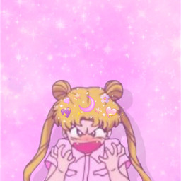 sailormoon cute pink sparkles magical emojicrown purple magicgirl anime usagisailormoon angryface adorable kawaii wallpaper backround pinkaethetic glittery hearts animeedit freetoedit