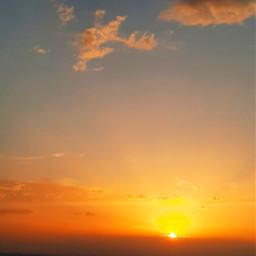 anochecer atardecer primavera spring cielo colores sol soleil freetoedit