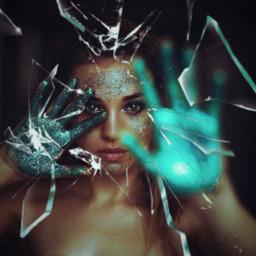 glass brokenglass broken brokenmirror challenge girl beautiful art photography photo edit freetoedit rcbrokenglasseffect brokenglasseffect