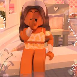 robloxgfx interesting robloxgirl girlroblox aestheticgirl aesthetic chill pretty remixit editedbyme kwaii sunset evening vintage roblox likethepost followmeplease night art pillow freetoedit