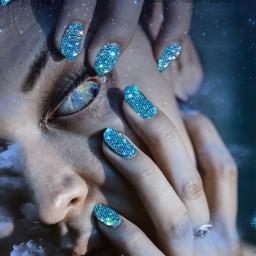 erath nails eyes freetoedit
