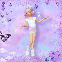 zepeto myzepeto zepetoedit fairykei fairykeifashion pastel pastelaesthetic lavender lilac perrywinklepurple lavenderaesthetic lilacaesthetic perrywinkleaesthetic unicorn freetoedit