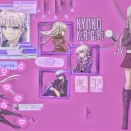 anime animegirl animeaesthetic animewalpaper animeicons animeedit danganronpav3 danganronpa1 kyokokirigiri wallpaper freetoedit