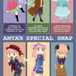 spyxfamily anyaforger clothes hairstyles ootd ootw anyasspecialsnap clothingdesign fashion fashionista manga anime colouredmanga gorgeoussss cute kawaii adorable walkwalkwalk