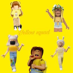 yellow girl roblox freetoedit