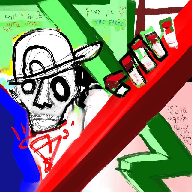 """""""New Construction"""" #art #artist #neoexpressionism. #graffitiart #sonnythesaint #sonnyleel"""