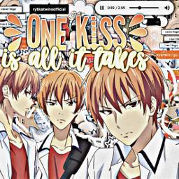 kyosohma kyosohmafruitsbasket anime orange orangeanime complex edit cute