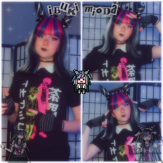 IBUKI MIODA💙💗🖤🤍🎸🎶  NEW COSPLAY SHAWTYS    PLZ I LOOK SO SWAG   I'm so happy to be cosplaying again  Also I've always wanted to cosplay Ibuki 😭✨   Tell me what you think!   Also I'm always open for advice    I had so much fun yeeeeeee   Anyway   Check out my tiktok weeblet101 for more! ᕕ( ᐛ )ᕗ    🎶Tag List🎶  @last_living_soul1605  @happyxfrogg0  @tetsuro-  @jk-jk-unless  @gummywurm  @kandiyx  @goldfishcosplays  @-aesthetic_tsu-  @sally_face_uvu  @weebsonly143  @_peachysempai_  @sushibeansbenz  @pinkynarf1  @_-gay-_  @v4l-1s-g4y  @strawberryshort_cake  @clxboba-  @dyingfairy4  @l0ng_sl0ng  @anime_edits_4you  @s0ww00  @fuzzybunny-png  @spiraledcos  @loliililil  @xxmikan88bandaidsxx  @god_of_frogs_  @hyp3rpr1nce  @fnaffan_10  @YourAverageNinja  @dreams_wheeze  @venomthemonster  @httpslevi-  @meg_chan_  (●'◡'●)ノ #ibuki #ibukicosplay #ibukimioda #ibukimiodacosplay #mioda #miodacosplay #miodaibuki #miodaibukicosplay #cosplay #ibukimiodaedit #drv2 #drv #drv2cosplay #danganronpa #danganronpacosplay #danganronpa2 #danganronpa2goodbyedespair #weeblet101 #cosplayer #danganronpaedit #danganronpav2 #game #colorful #yeet #idk