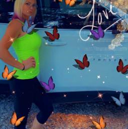 freetoedit jenniferart jennifersbody jennifer jennifermize playgirl chevygirl chevylife chevytraverse butterflies nature car
