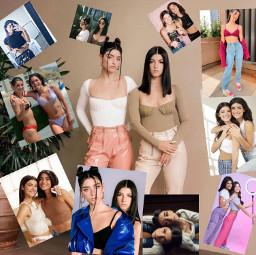 charli dixie damelio models sisters sisterlove behappy freetoedit