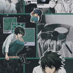l ldeathnote deathnote lwallpaper ldeathnotewallpaper anime manga freetoedit