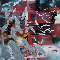 freetoedit abstract birds