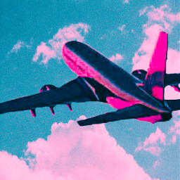 replay freetoedit plane skyandclouds tryingsomethingnew