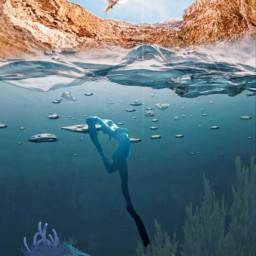 remixit freetoedit remixit ircunderwaterbeauty underwaterbeauty