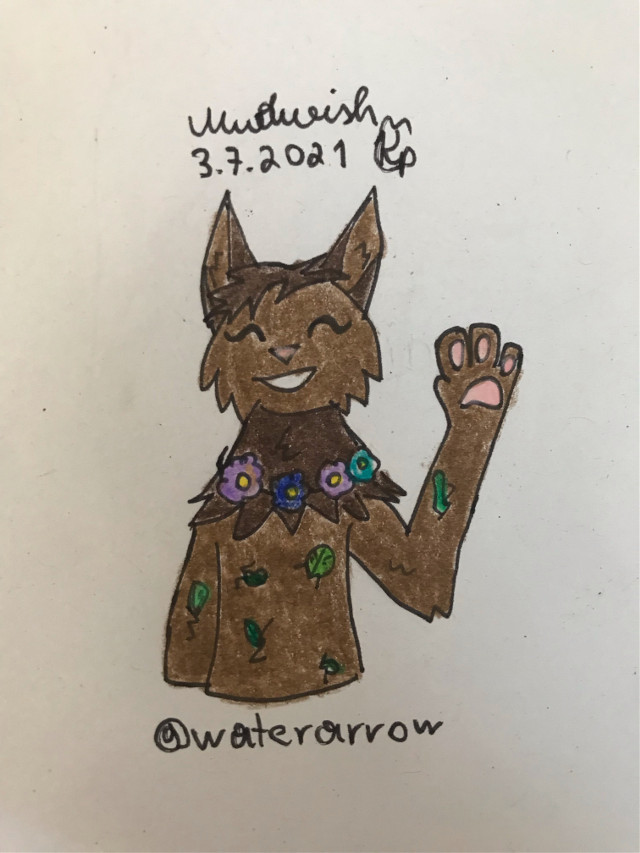 """❄️Name:❄️ Mudwish @mysnekislenny s oc!  ❄️Category:❄️ WarriorCats   ❄️Description:❄️ This is Midwish! @mysnekislenny requested it. PLEASE DONT STEAL, THANK YOU!!! I hope you like it! 😸  ❄️Special Information: ❄️ WHAT SHOULD I DRAW NEXT? Requests are open, everyone can request something!! If you want to be in the tag list, then please comment """"🌐"""" If you changed your username, then please comment """"🧩""""  ❄️Tag list:❄️ @foxstargaming @maleficentisangry @toskunszogun @_galaxy_fury @candylops @poultryffarocks4 @_kotlc009_ @dimensionthedragon @fluffyfirecatz @swftclipsar_ @bellareadswarriors @jellytete @warriorcats_blueberr @f0reststar @littlesunshine_x3 @nettle_the_fox @macbethnonoword  @ruben-mendes-123 @moonlightshadowo @i_iz_lowenna @wildcraftworld @chocolatebunnybess0  ❄️Hashtags:❄️ #warriorcats  #mudwish #schlamm #waterarrow"""