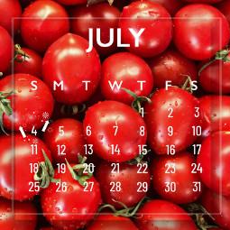 july calendar tomatoes freetoedit srcjulycalendar2021 julycalendar2021