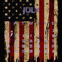 freetoedit july calendar usaflag srcjulycalendar2021 julycalendar2021