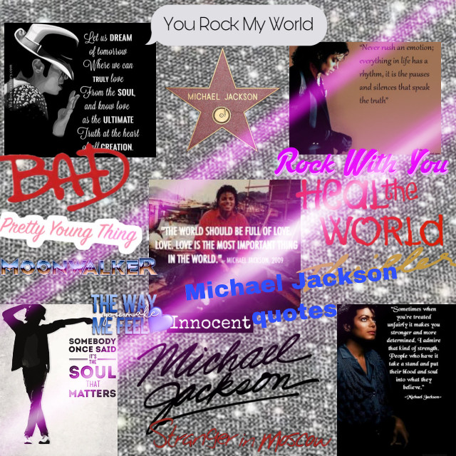 #michaeljackson #quotes#bad#yourockmyworld#thriller#prettyoungthing#healtheword#rockwithyou