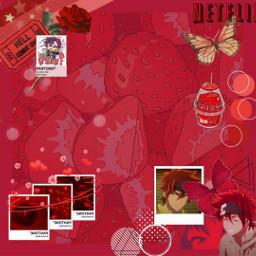 freetoedit reki sk8theinfinity rekikiyan redaesthetic red anime animeboy aesthetic