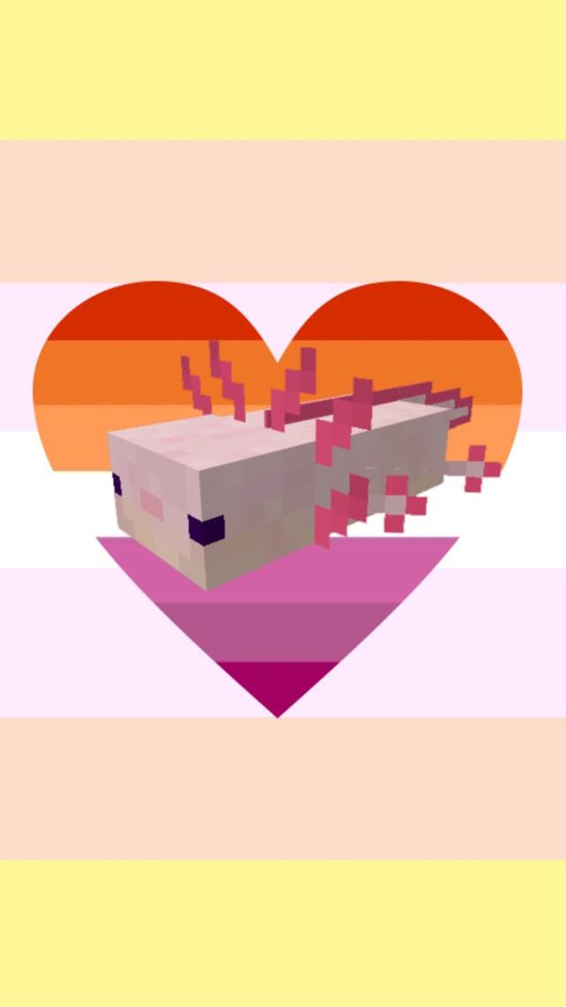 Lesbian Pangender wallpaper!  Requested by @call_me_raspberryyyy      -Tristyn @-_tristyn_-   #lesbian #lesbianflag #lesbianwallpaper #pangender #pangenderflag #pangenderwallpaper #axolotl #lgbtqwallpaper #lgbtqwallpapers