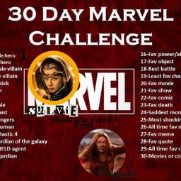 30daymarvelchallenge marvel marvelchoice day1  ❤ freetoedit day1