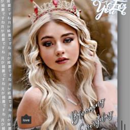 freetoedit sicilyrose sicilyrosedit queens queen princess crown grey text japenese love lusynda9