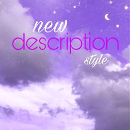 newdescription newdescriptionstyle newtaglist newtagliststyle freetoedit