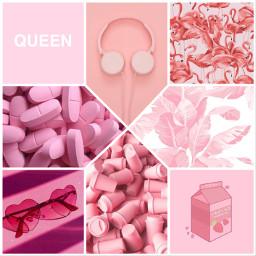pink flamingos earphones pillule glasses queen milk aesthetic pinkaesthetic lusynda9 ccpinkaesthetic2021 pinkaesthetic2021