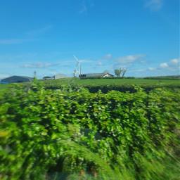 sky clouds windmill irish countryside pcskyandclouds skyandclouds