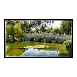 huntingtonlibrary gardens chinesegarden bridge lightandshadow attheh reflection