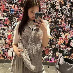 jennie kimjennie kpop blackpink interesting elle fashion vogue