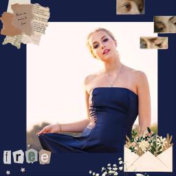 freetoedit blue darkblue beige indiestar letter flower word world lusynda9