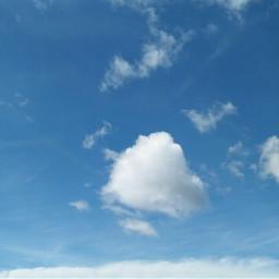 sky cloud bluesky pcskyandclouds skyandclouds