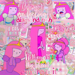 princessbubblegum pink pinkcomplex complex edit complexedit adventuretime