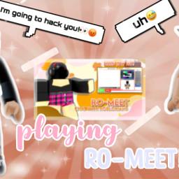 roblox romeet romeetexperiance _ robloxyoutuber playingroblox robloxthumbnail checkoutmyyoutubechannel freetoedit