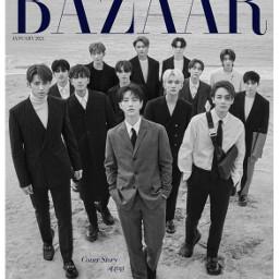 seventeen kpop interesting bazaar
