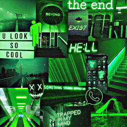 fundo background collage aesthetic tumblr neon green verde greenvibes freetoedit