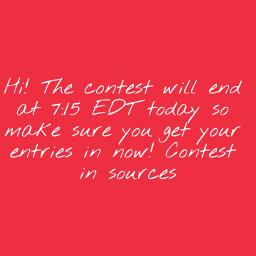 contest endingcontest freetoedit