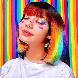 freetoedit papartner picsartpartner arcoiris inspiração