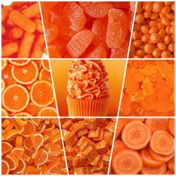 orange food rare collage unique picsartedit picsart madebyme wallpaper aesthetic art pictures