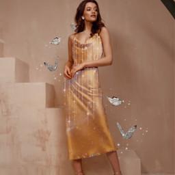 aesthetic woman dress freetoedit