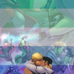 freetoedit wiccanandhulkling wiccan hulkling marvel mcu avengers gay mlm mlmflag gayflag lgbtq