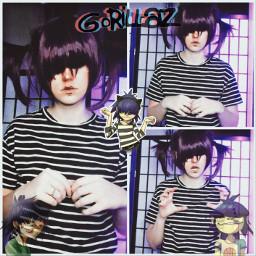 freetoedit noodle noodlecosplay noodlegorillaz gorillaz gorillazcosplay cosplay cosplayer weeblet101 purple lol idk music