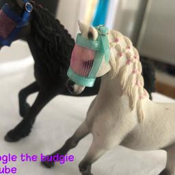 schleichhorses diy artandcrafts adorable minitack googlethebudgie