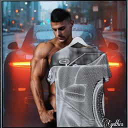 tshirt sportscar design street model male editbyme ircdesignthetee2021 designthetee2021