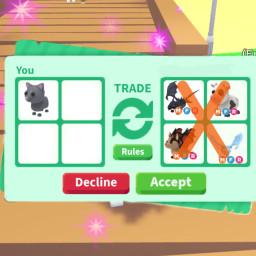freetoedit decline funny adoptme trading roblox adoptmepets shadowdragon frostdragon cat cow batdragon