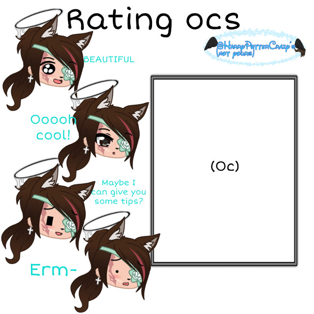 OKAY SO   I will be rating ocs since it won the vote!   Well, technically it tied with roasting but rate came before roast on my list   RULES  -Only one oc per remix  -I won't be taking commented ocs because it gets confusing  -Don't remix with the same oc multiple times because why would you even do that?  Other things IF I DO NOT GET TO YOUR OC IMMEDIATELY, DO NOT COMMENT IF IM GOING TO BECAUSE I AM BUT YOU HAVE TO GIVE ME TIME   DO NOT GET OFFENDED IF I SAY ANYTHING NEGATIVE ABOUT YOUR OC  That's all! Remix away!    #ratingocs   Taggity Tags  😁Fʀɪᴇɴᴅᴏs😁 ~ @cookierose100 ~ @tingletangle  ~ {💎}@-sun_flowxrs-  ~ @kittykittymowmo  ~ {🦋} Mxgesty  ~ @leiloune1  ~ {😜} @gachagirl1121  ~ {🐺} @lunerwolfcomet  ~ {🍰} @teaix-  ~ @-cxco_bean-  ~ {🥺} @-y0ur_l0cal_egirl-  ~ {🌊} @cupid1ty   ~ @i_like_black_colour  ~ {🌺} @haileyplayz2021  ~ @redleaf_yt  ~ @-_random_stuff_-  ~ @lilian_weeb  ~ @lilkittycatkit  ~ @rosemakeschez  ~ @chxxar  ~ @killer_wolf2009  ~ ❤️B͜͡F͜͡S͜͡F͜͡L͜͡❤️ ~ {🌷} @starxflim ~ {}@extrathickbug  ~ {🐶} @animallover1511 ~ {😔} @-themultifandomloser  ~ {😎} @bestchild300 ~ {⭐️} @-a-l-i-a-h- ~ {🌿} @z3stp1nk  ~ {🍅} @believingtomato  ~ @ava_ilovegandk  ~ @heyitz_hazel  ~ {🏹} @fendiswt ~ @drarrylinnypansmione  ~ @-awhrosie   ~ {🥺} @cochlearqueen2 ~ {✨} @icey_boba2 ~ {🧡} @_randomthing_ ~ {🍃} @greta_2577 ~ {} @xxsailor_chanxx  ~ @x-galactic_starcat-x  ~ 👉👈ℐ𝒹ℴ𝓁𝓈👉👈 ~ Mushroom_king43 ~ {💙} @-forget_me_not-  ~ @jennagacha_cookiez ~ {🌻} @inspector-sprout ~ {✏️} @// theo_writes ~ 😎ᖴᗩᗰ😎 ~ @puppet-kun-chan  ~ @starxflim ~ @elytriansend  ~ {☎️} @-themultifandomloser  ~ @___dxmb_  ~ 🔥𝘿𝙚𝙢𝙤𝙣 𝘾𝙡𝙖𝙣🔥 ~ @beaine_monster ~ {⭐️} @-a-l-i-a-h- ~ {🖤} @alariccobweb ~ {🍅}@believingtomato ~  @icey_boba2 ~ @cherryrats ~ @dinonuggiebb ~ {🌿} @z3stp1nk  ~ @xcxnazvazxcx   ~ {🥺} @cochlearqueen2 ~  🌸𝚁𝚘𝚋𝚒𝚗𝚜 𝙰𝚌𝚊𝚍𝚎𝚖𝚢🌸 ~ {} @jupiterkid127 ~ @-_wolfie_artz_- ~ @-_wolfie_gacha_- ~ @drxgonyy  ~ @believingtomato ~ {🍔} @-notcloudy- ~ {🌙} @dxmonbunnii  ~ {🤣} @harrypottercrazy  ~ {⭐️} @-a-l-i-a-h-   👀ℂ𝕠𝕞𝕞𝕖𝕟𝕥 𝕠𝕗 𝕥𝕙𝕖