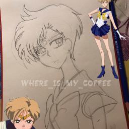 freetoedit interesting art draw drawing sailoruranus sailoruranusedit harukatenoh харукатено